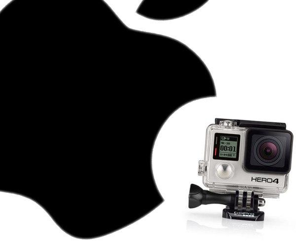 Apple podría adquirir GoPro