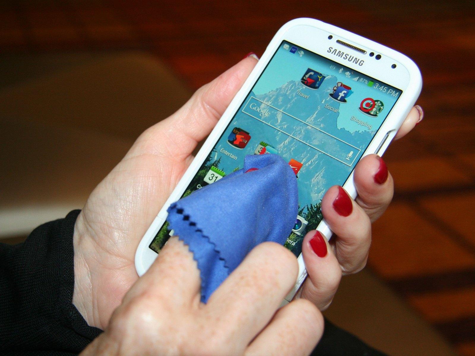 limpiar tu smartphone