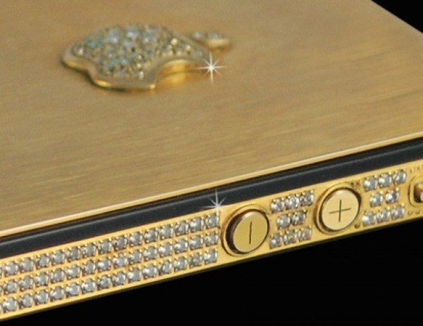 Smartphone Gold Diamonds