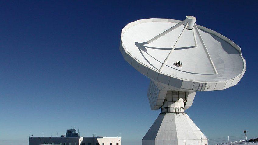 radiotelescopio en Uruguay