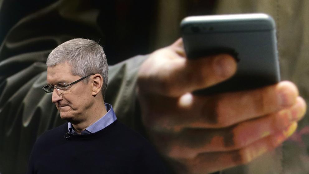 ventas de Apple caen al suelo