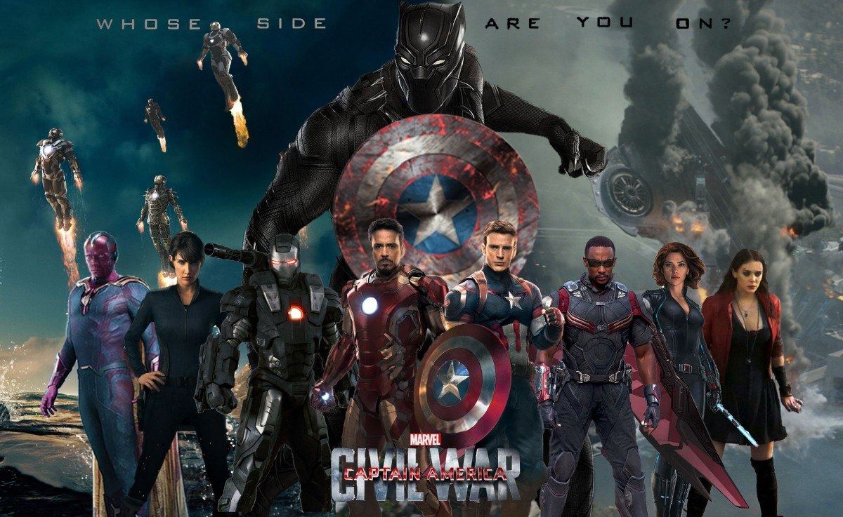 Trailers de Capitan America: Civil War - Poster
