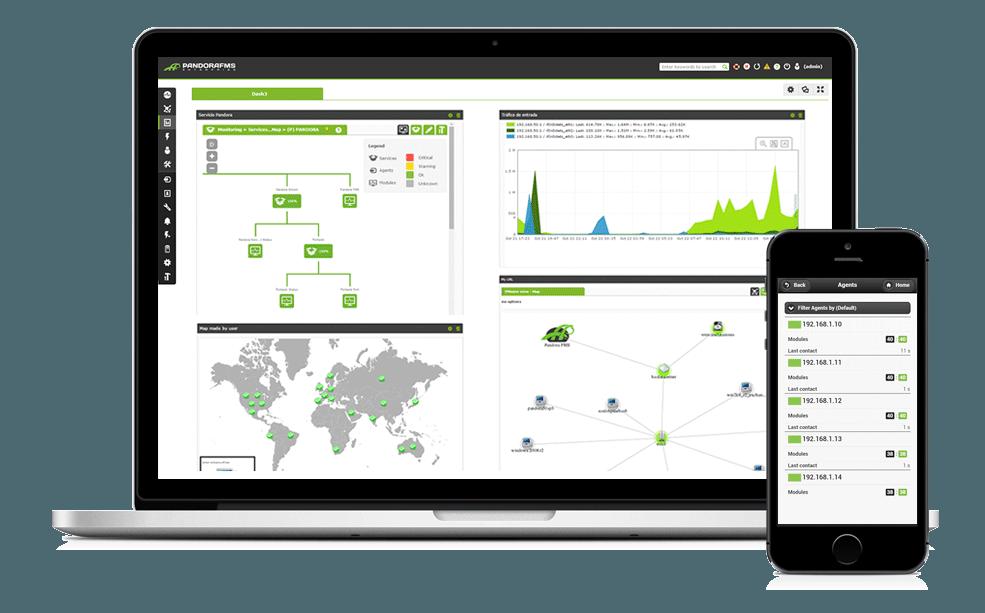 Pandora FMS, mas que un software de monitoreo
