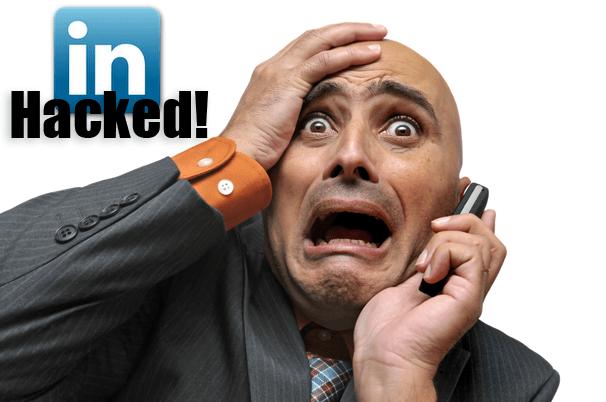 LinkedIn hackeada