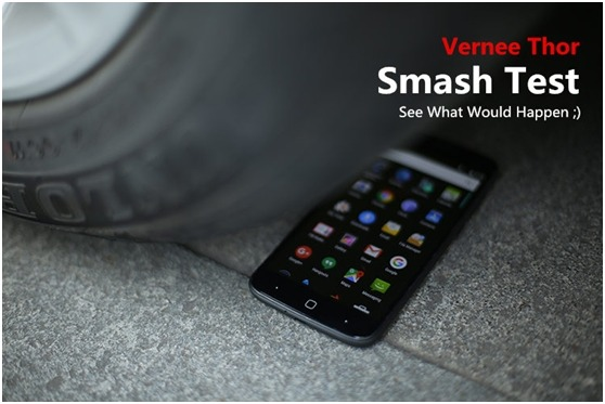 pontente smartphone Thor Vernee