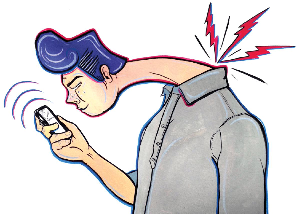 síndrome del Cuello de Texto
