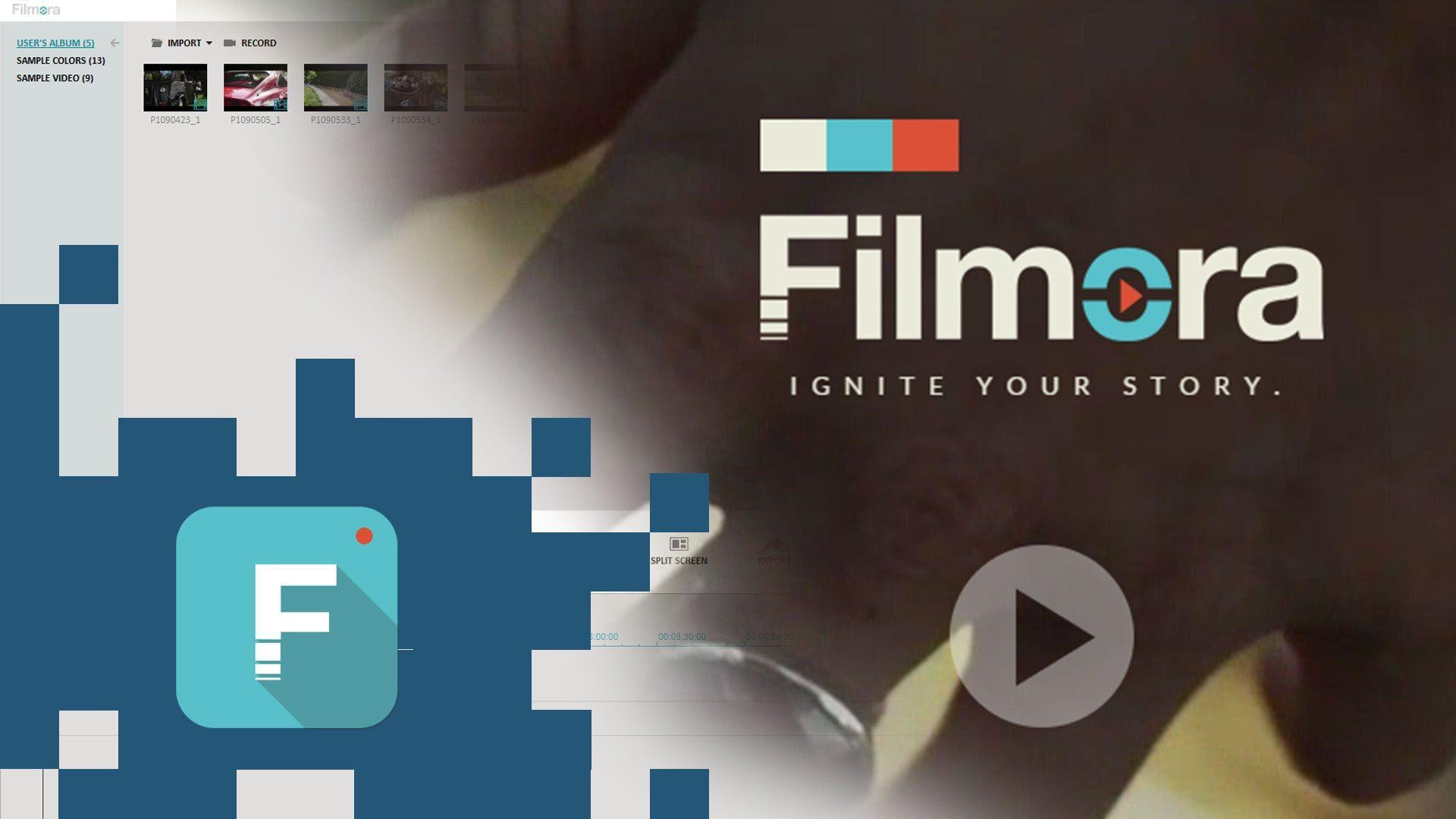 Filmora: Dale chispa a tu vida y a tus vídeos