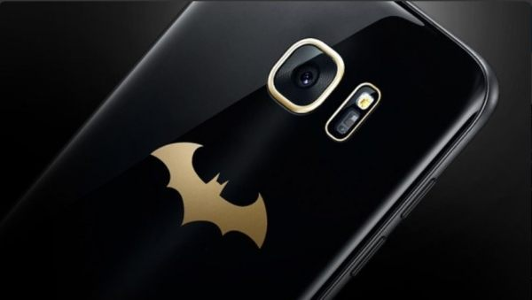 Galaxy S7 Edge edición especial Batman