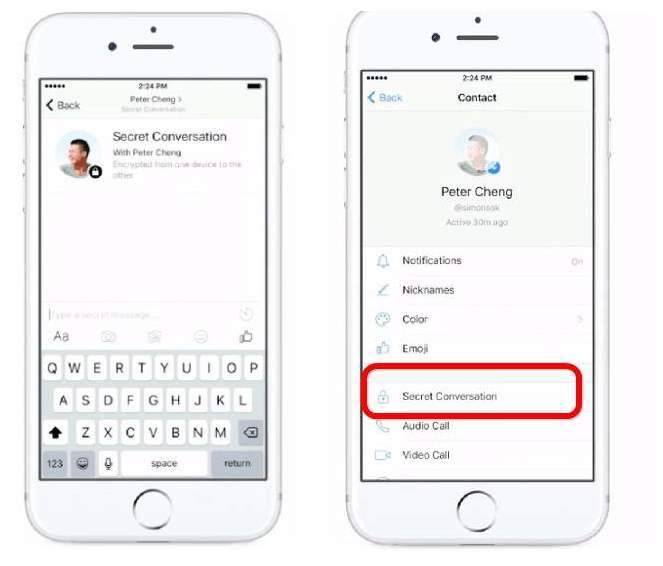 Facebook implementara las conversaciones cifradas