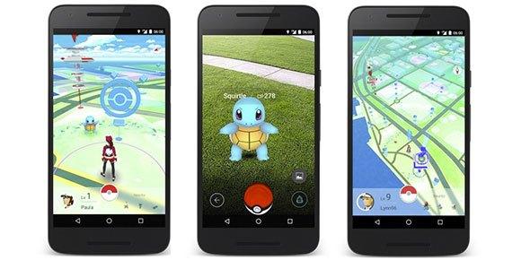 Pokémon Go es todo un éxito
