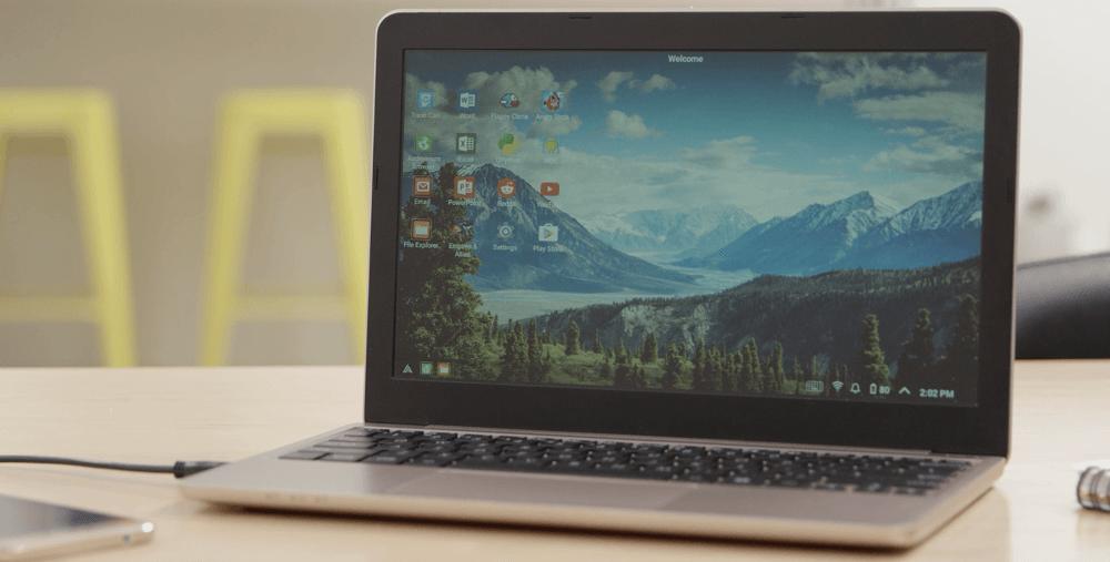 Convierte tu smartphone en una Laptop