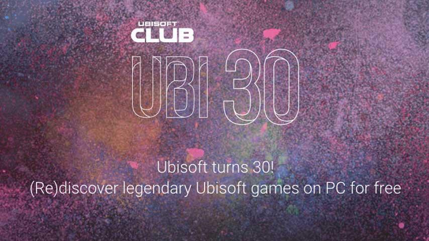 Ubisoft regalará un juego todos los meses