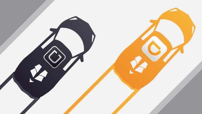 Uber y Didi Chuxing