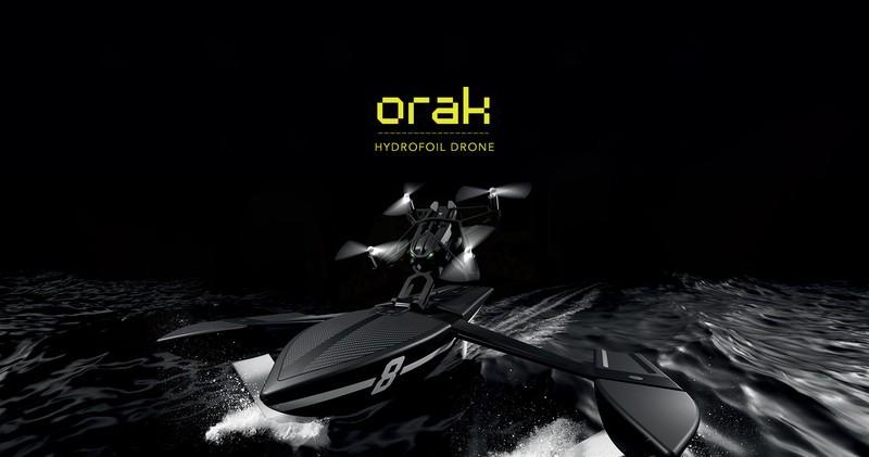 Orak Hydrofoil Drone