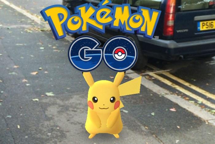 capturar a Pikachu en Pokemon Go