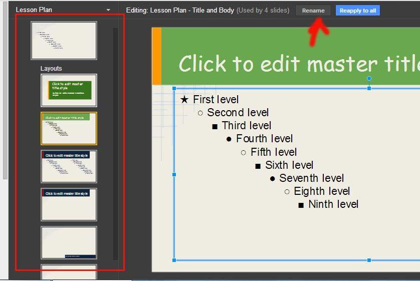 Renombrar powerpoints desde Slides