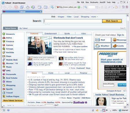 Avant Browser, segun sus creadores el más rápido browser del mundo