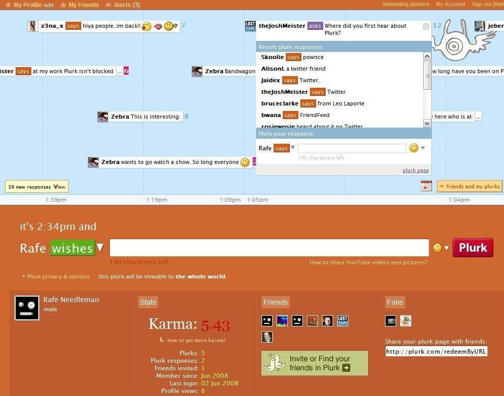 Plurk, una de las más interesantes alternativas a Twitter hoy por hoy