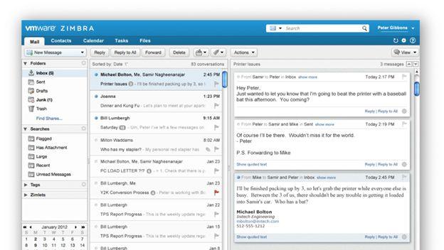Zimbra, una de las más usadas alternativas a Outlook en la actualidad