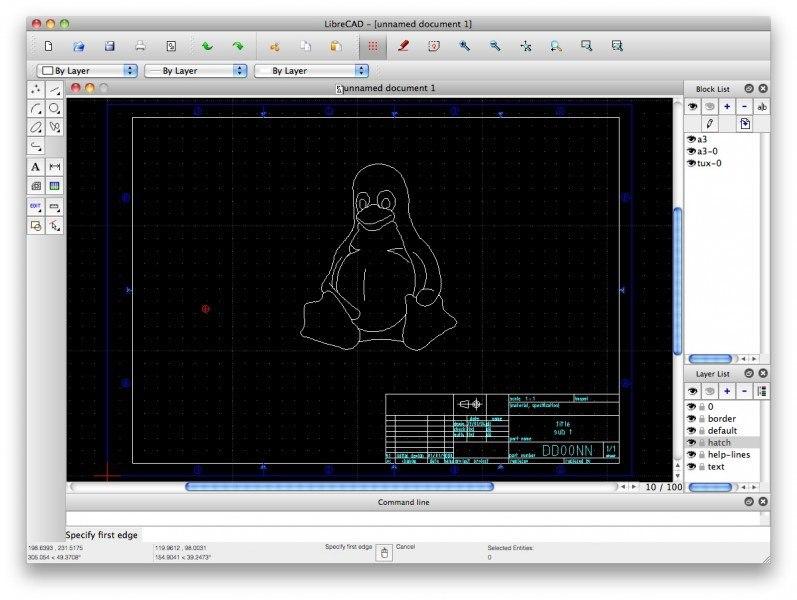 LibreCAD, otra de las opciones si buscas alternativas a AutoDesk AutoCAD