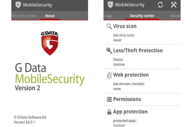 G Data Mobile Security 2