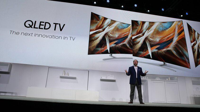 tecnología QLED de TV Samsung