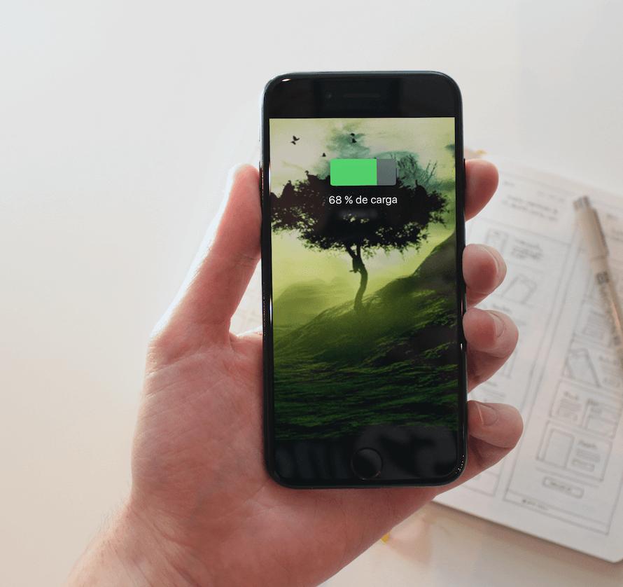 Cargar el iPhone desde la conexión Wifi