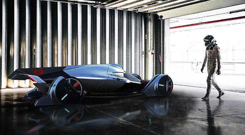 testla t1 - coche impulsado por energía eólica