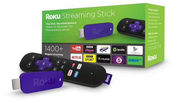 Roku Streaming Stick versión 2017 ofrece un completo catálogo de más de 1400 apps compatibles, suficientes para poder disfrutar de cualquier contenido multimedia desde tu televisor
