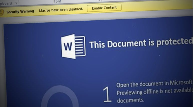 Los macros de Word bajo Windows 10 S fueron los responsables de permitir el hackeo como administrador