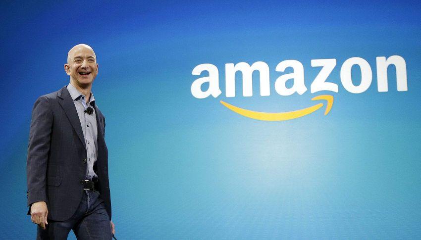 Esta seguramente ha sido la sonrisa de Bezos al enterarse que se ha convertido en el hombre más rico del mundo tras superar a Bill Gates