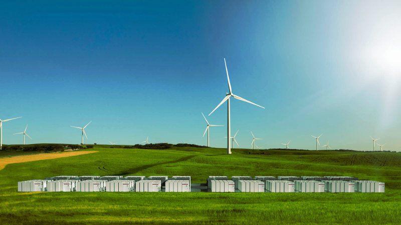 Planta de energía eólica en Australia
