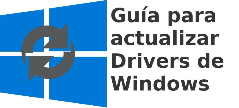 actualizar drivers en Windows