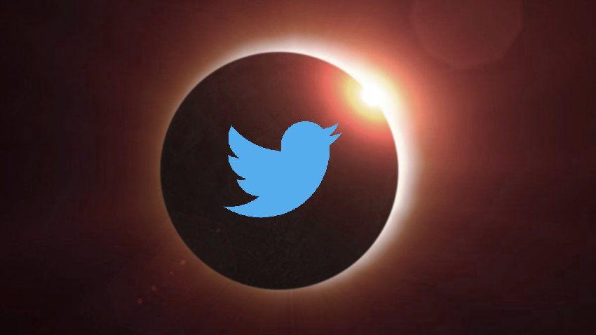 Twitter transmisión en vivo de Eclipse Solar Total