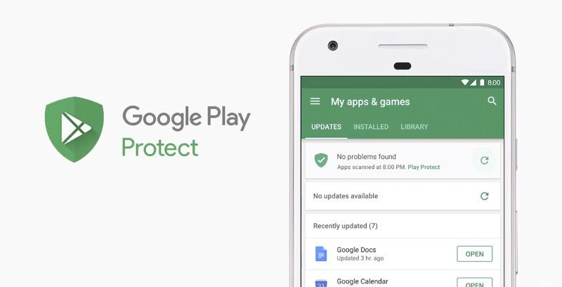google play protect - android