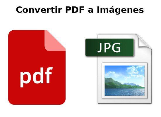 Convertir PDF a imagenes