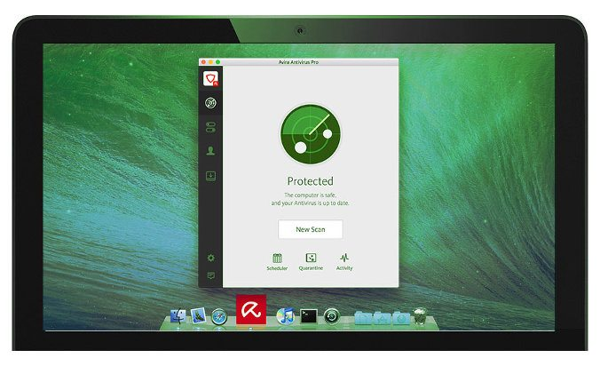 avira antivirus screenshot mac