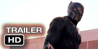 black panther trailer marvel