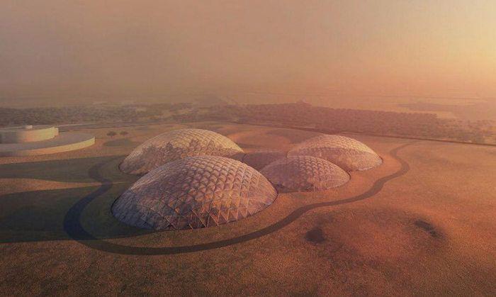 ciudad marciana en dubai