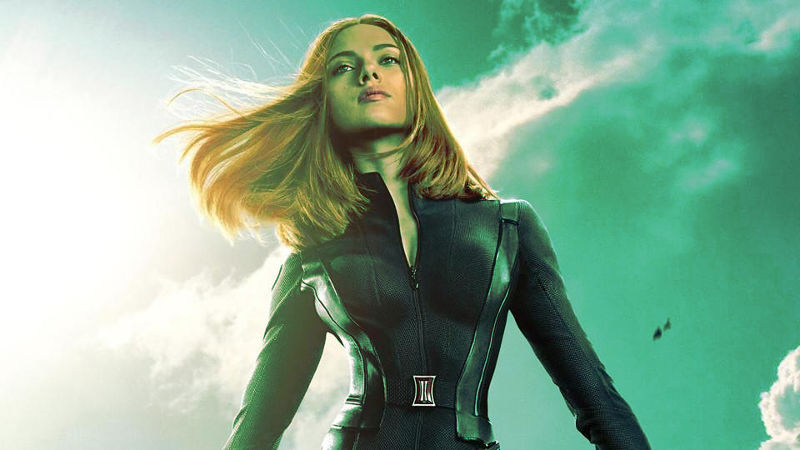 Black Widow Scarlett Johanson