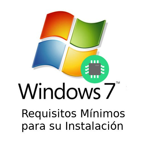 Requisitos de Windows 7 mínimos para su instalación