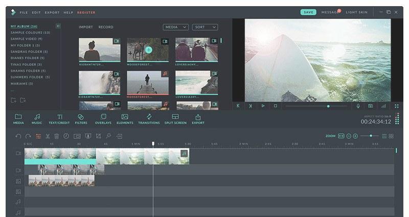 Filmora Wondershare Video Screenshot