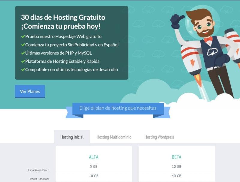Captura de Infranetworking - Hosting GRATIS sin Publicidad, PHP y MySQL Gratuito