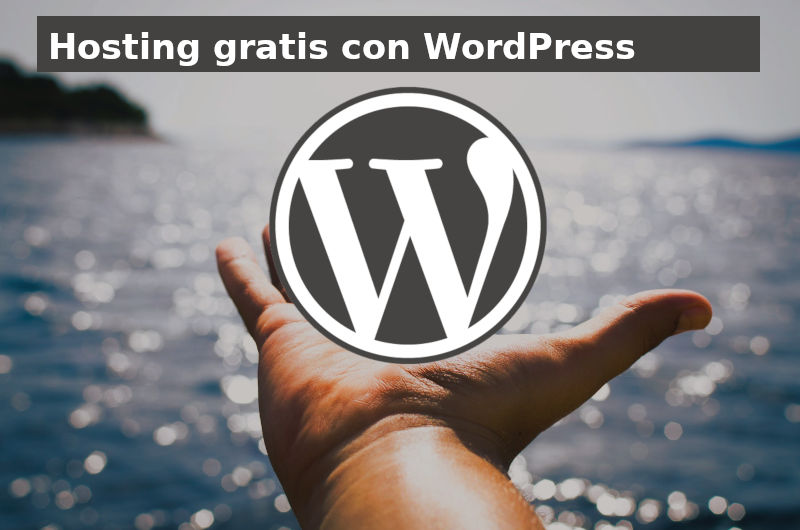 hosting gratis con wordpress