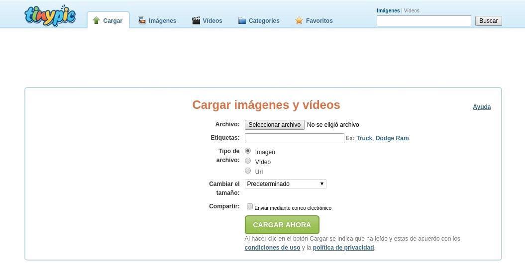 TinyPic - Alojamiento de imágenes y video para compartir