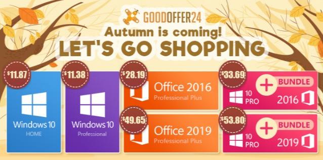 Goodoffer ofertas otoño
