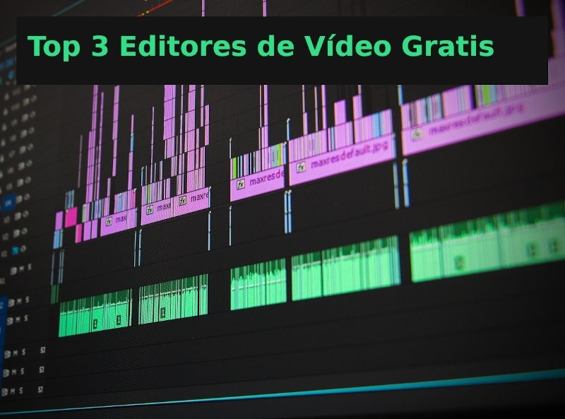 top editores video gratis para Windows