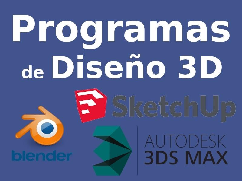 Lista de mejores programas de diseño 3D