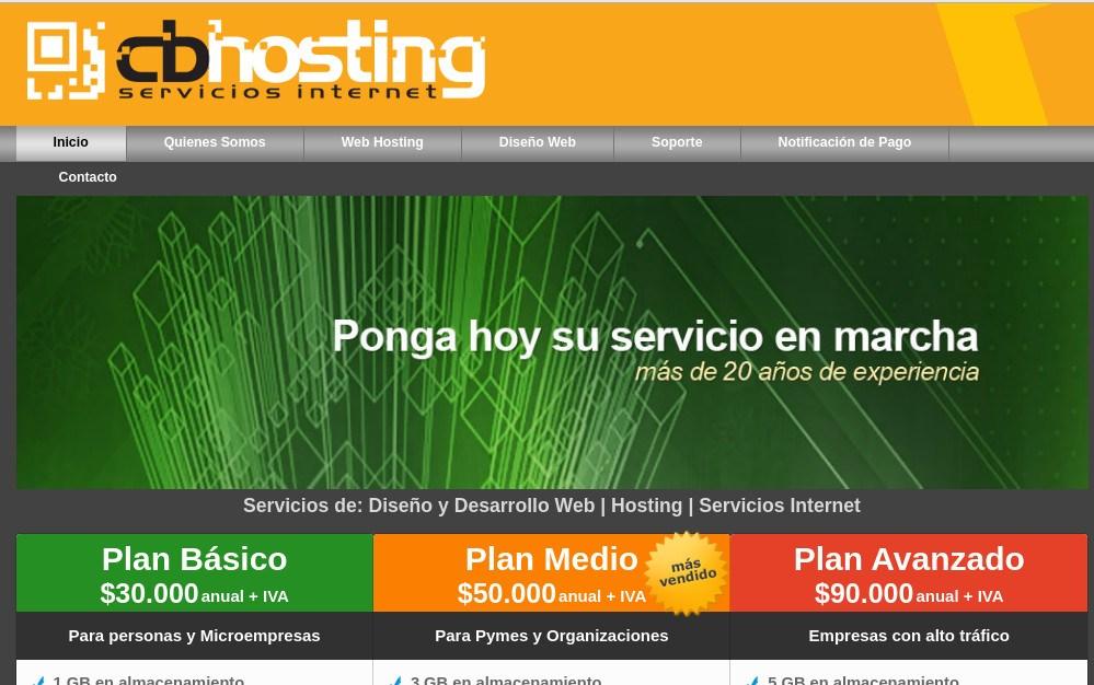 cbhosting, un tradicional hosting de origen chileno